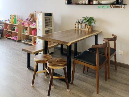 Mẫu bàn ăn cho chung cư căn hộ 2020